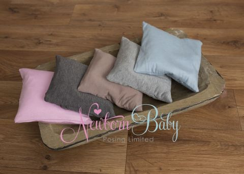 Plain Fine Stretch Posing Cushions ~ Many colours